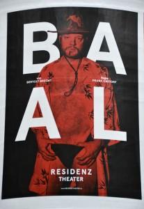Plakat des Residenztheaters München