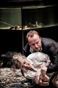 Nina Hoss und Mark Waschke in Bella Figura Foto (C) Arno Declair