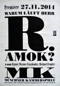 Plakat der Münchner Kammerspiele