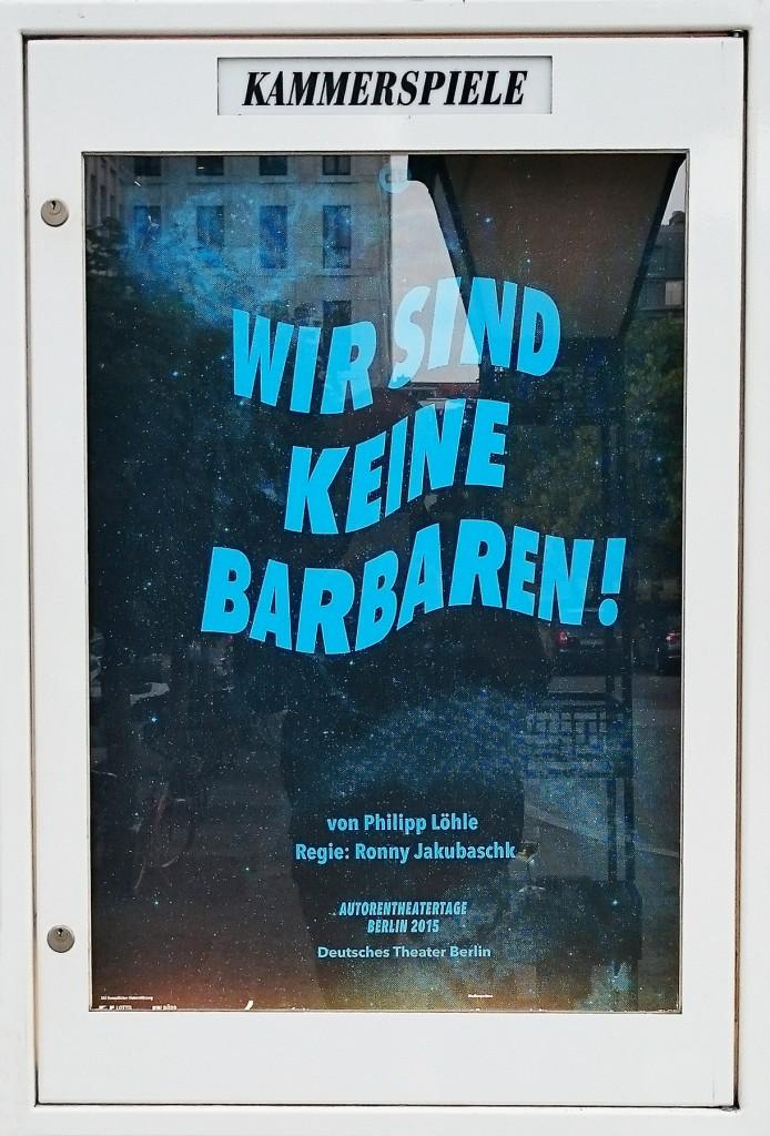 Foto: Schaukasten DT-Kammerspiele