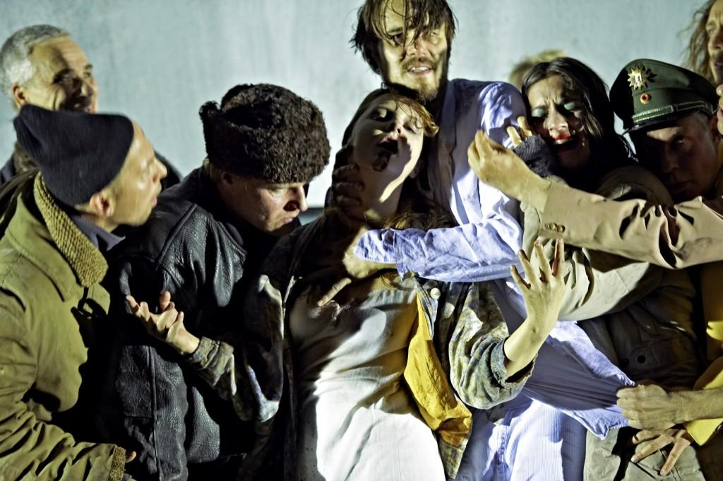 Nachtasyl an der Schaubühne - Foto (c) Katrin Ribbe
