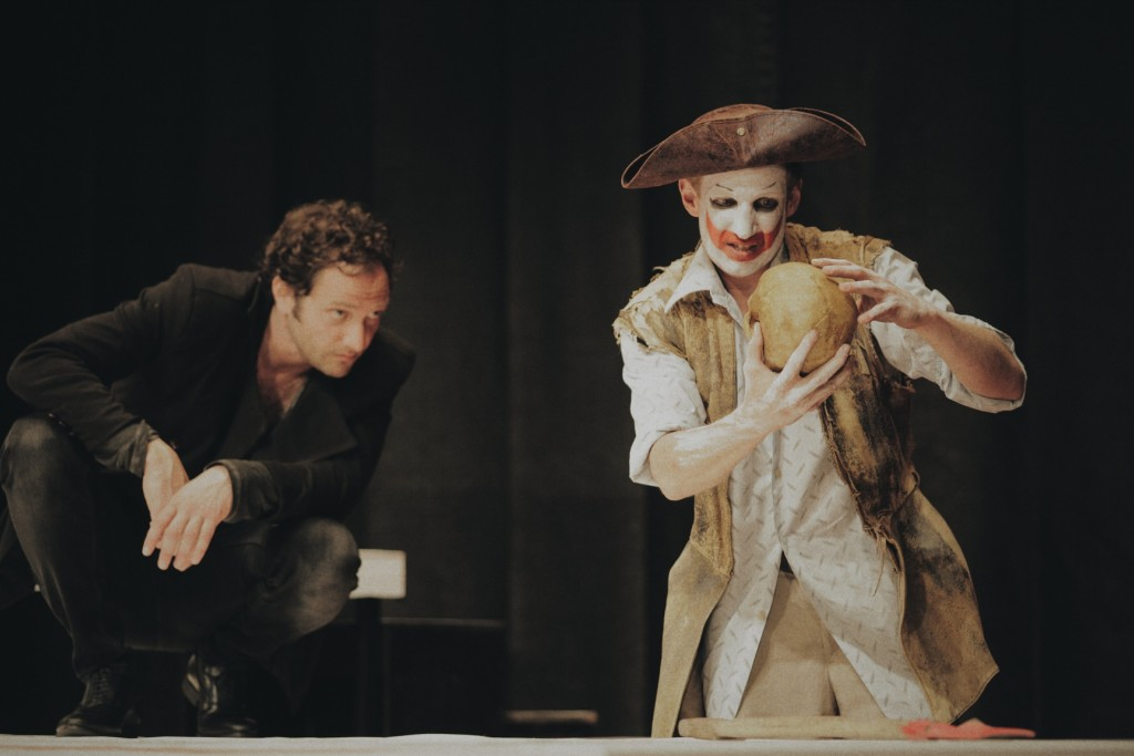 Hamlet in der Klosterruine am Alex - Foto © Neues Globe Theater