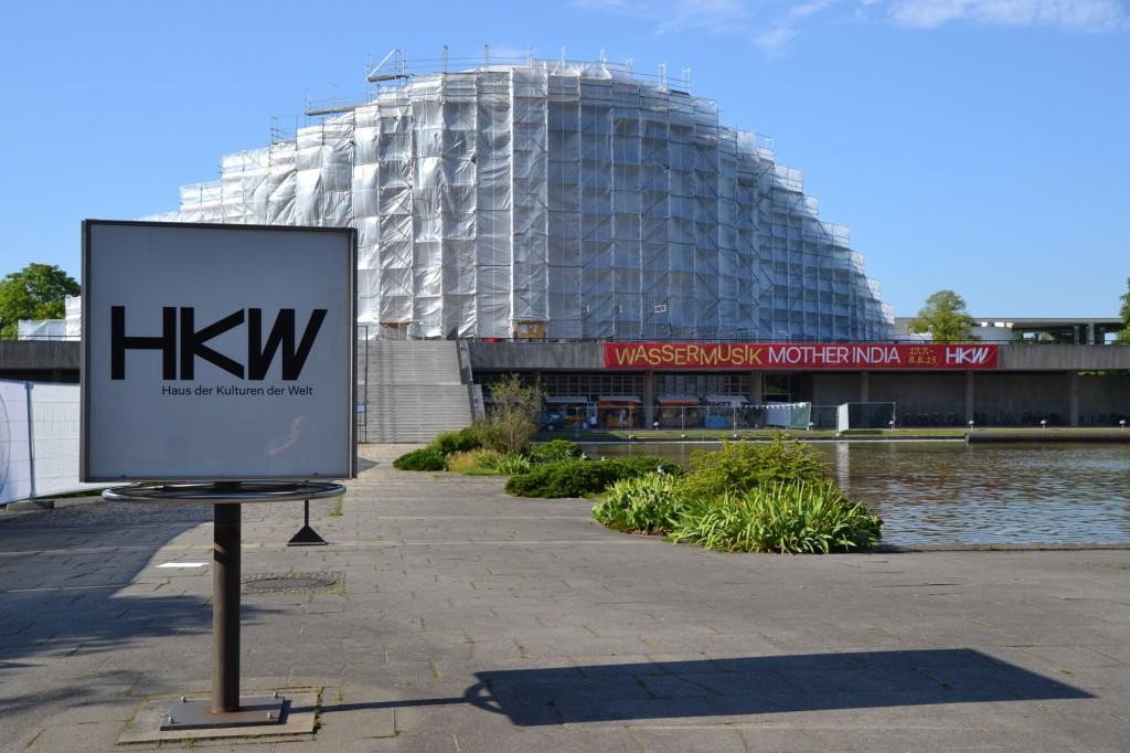 Wassermusik 2015 im HKW Berlin
