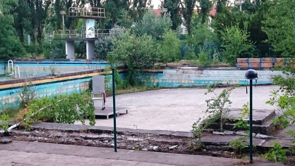 Odysseus, Verbrecher im alten BVB-Schwimmbad - Foto: St. B.