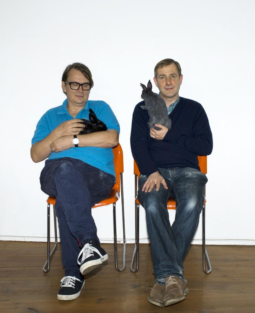 Andreas Dorau und Sven Regener - Foto © Charlotte Goltermann
