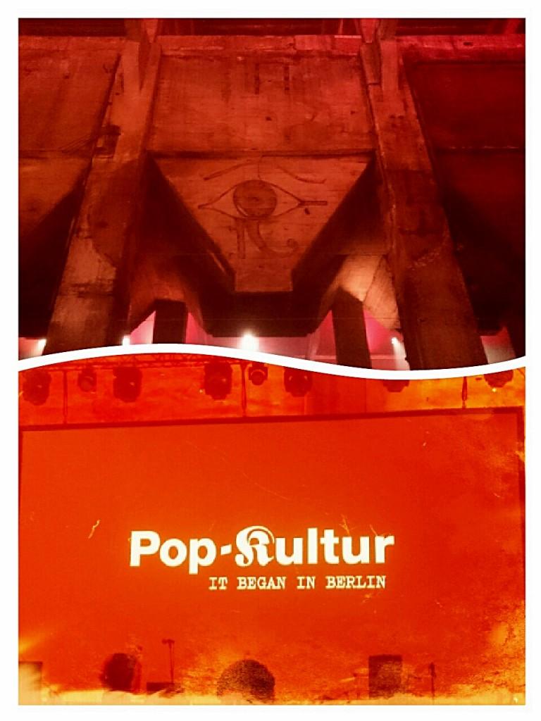 Pop-Kultur im Berghain - Fotos und Collage: St. B.