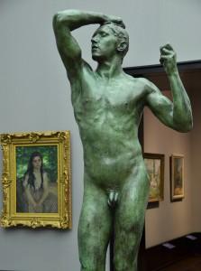 Auguste Rodin: Das eherne Zeitalter (1875-76) - Foto: St. B.