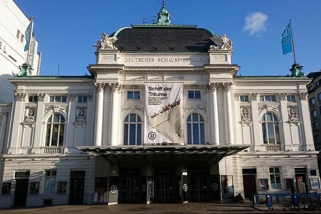 Schiff der Träume am Deutschen Schauspielhaus Hamburg - Foto: St. B.