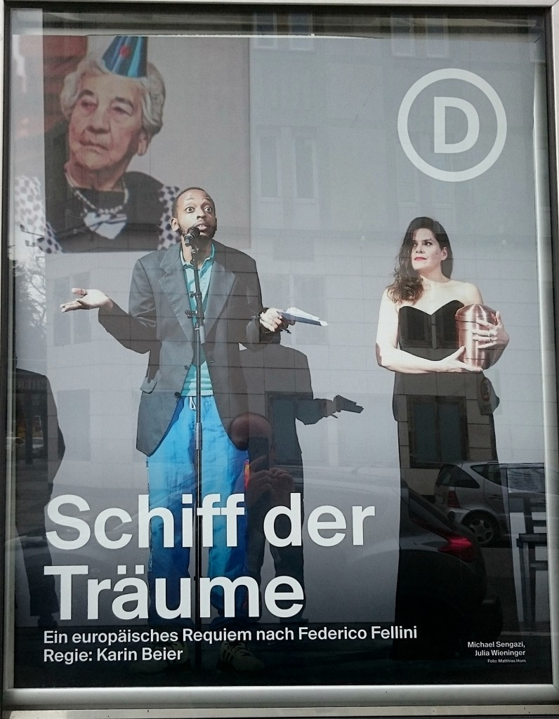 Schiff der Träume am Deutschen Schauspielhaus Hamburg - Foto Schaukasten