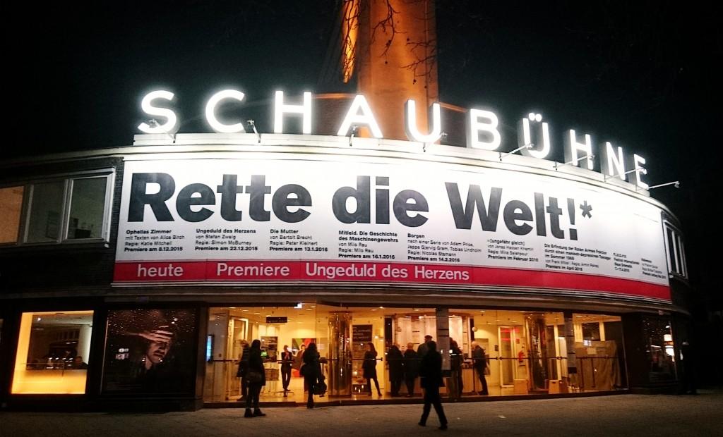Ungeduld des Herzens in der Schaubühne am Lehniner Platz - Foto: St. B.