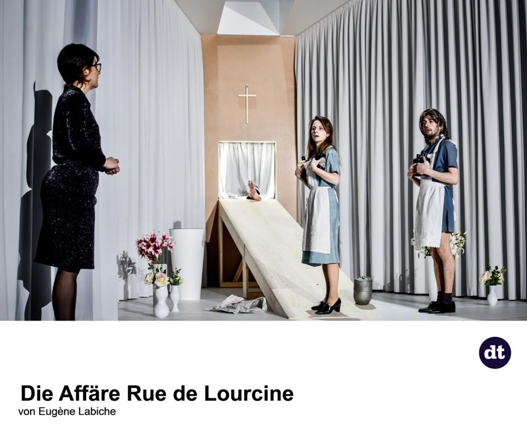 Die Affäre Rue de Lourcine am Deutschen Theater - Foto (C) Arno Declair