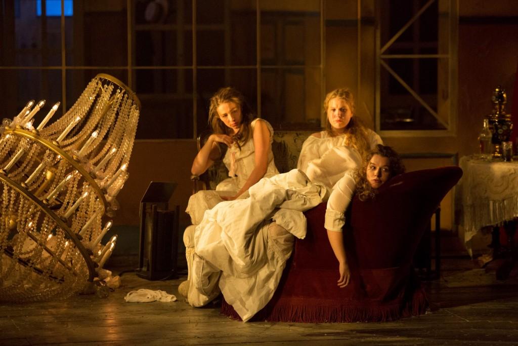 Drei Schwestern am BE - Foto (C) Lucie Jansch