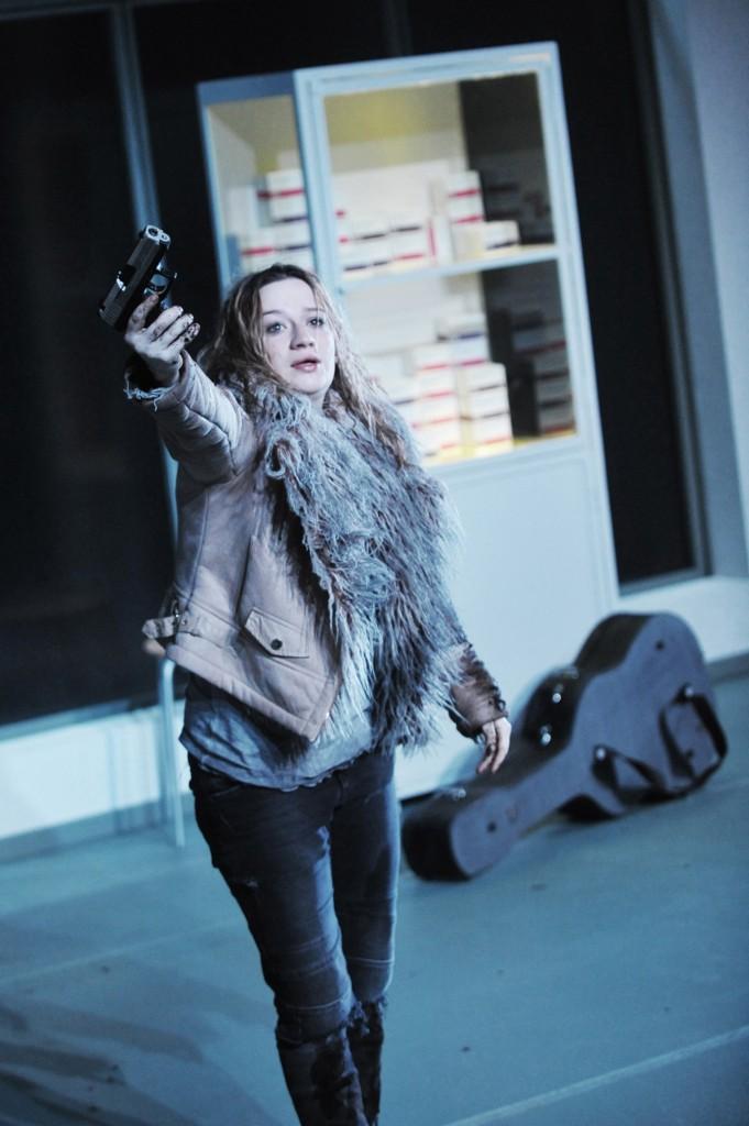 Nina Gummich als Isa in Wolfgang Herrndorfs Bilder deiner großen Liebe am Hans-Otto-Theater Potsdam - Foto (C) HL Böhme