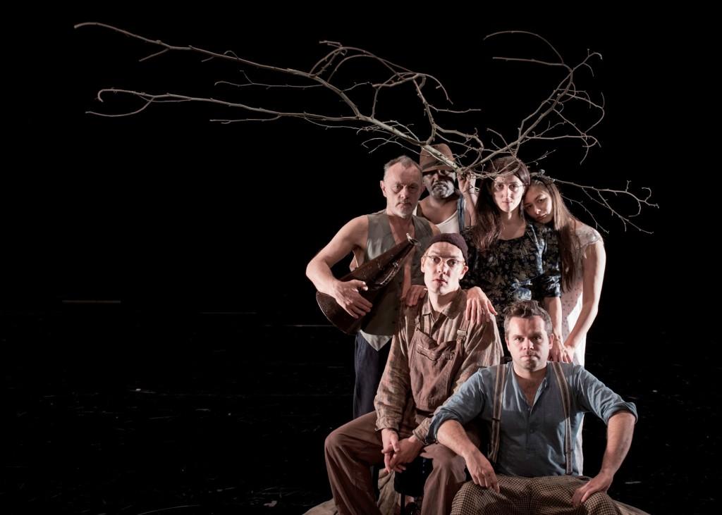 Früchte des Zorns von John Steinbeck Regie Luk Perceval Koproduktion mit dem NT Gent Premiere 23. Januar