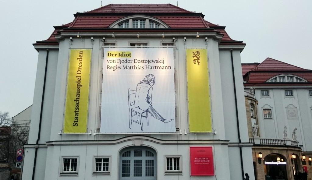 Dostojewski am Staatsschauspiel Dresden - Foto: St. B.