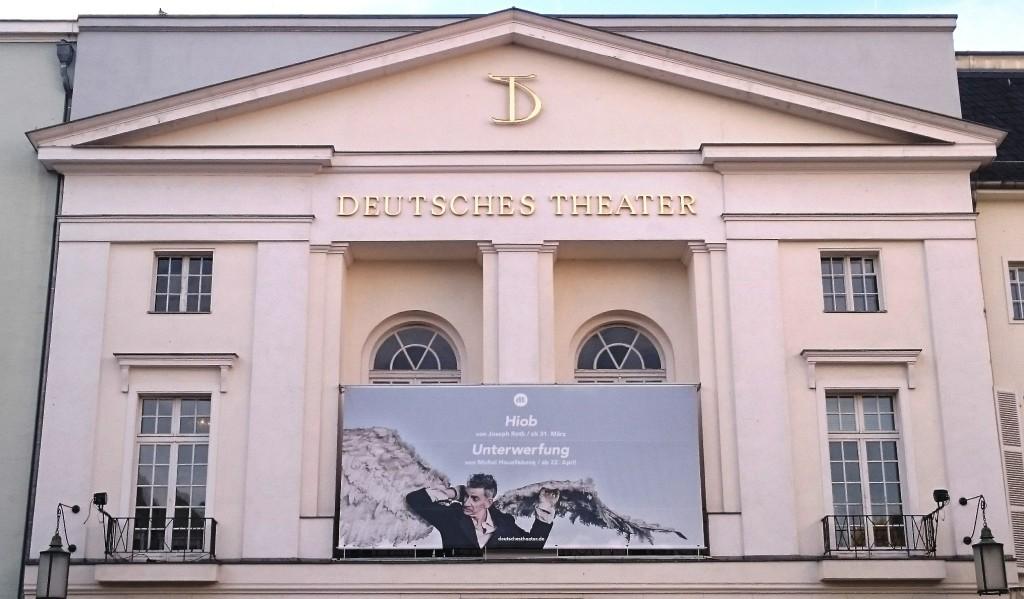Unterwerfung nach Michel Houellebecq am DT - Foto: St. B.