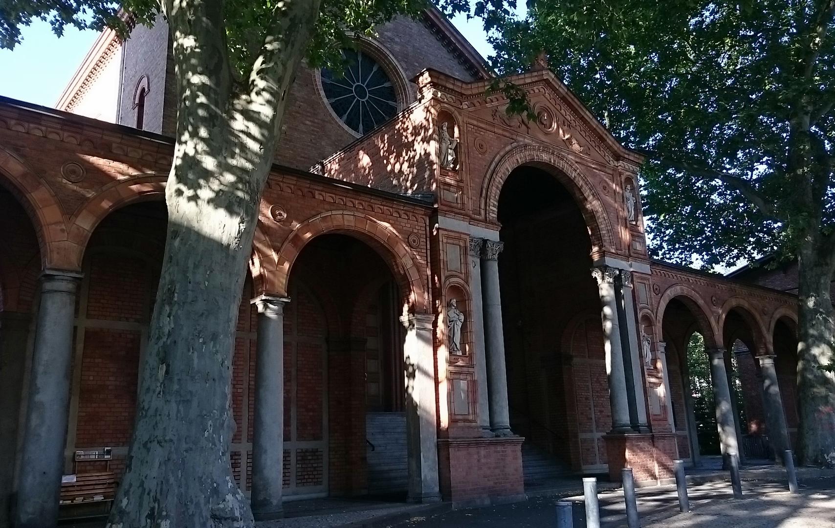 Glaube Liebe Hoffnung in der St. Johanneskirche Moabit - Foto: St. B.