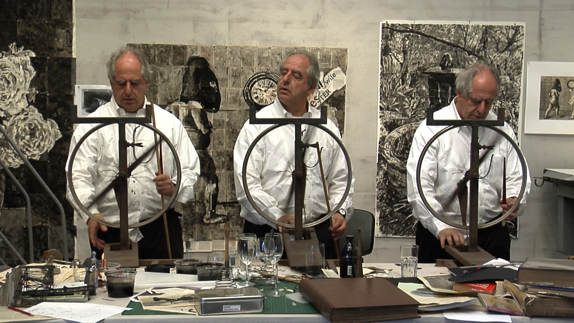 Drawing Lessons I–V - Foto (c) William Kentridge