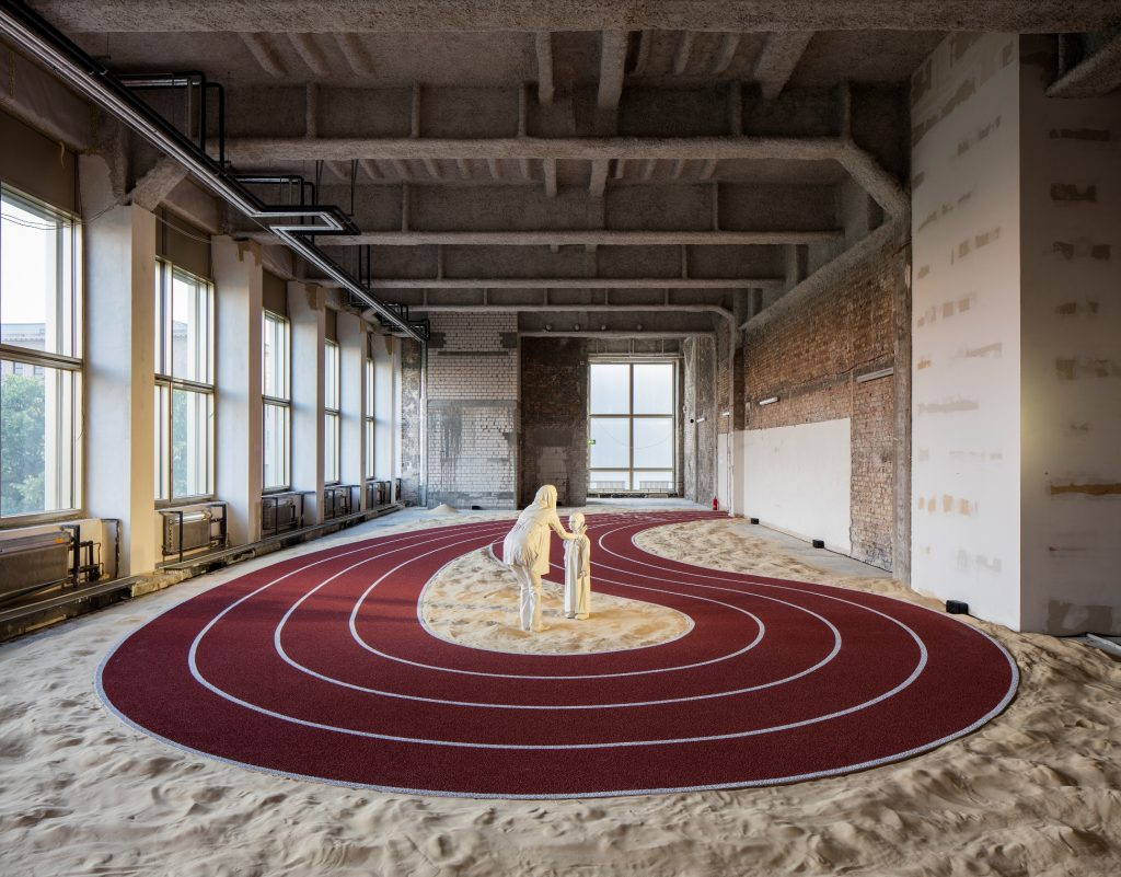 GCC, Installationsansicht Positive Pathways (+), 2016 - Foto © Timo Ohler