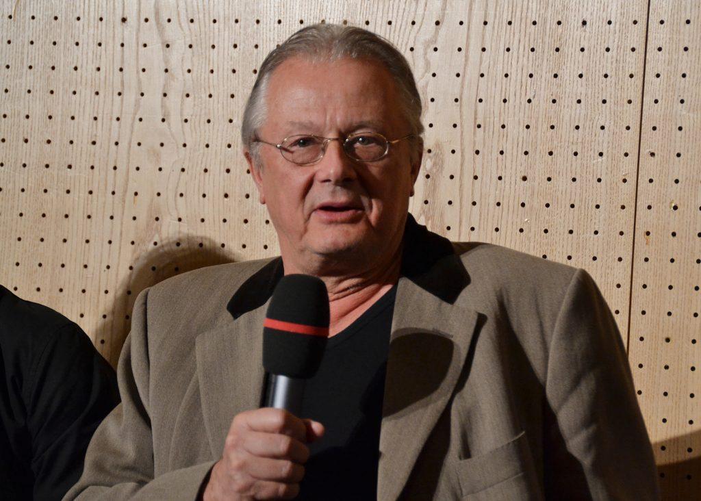 Frank Castorf beim Theatertreffen 2015 - Foto: St. B.