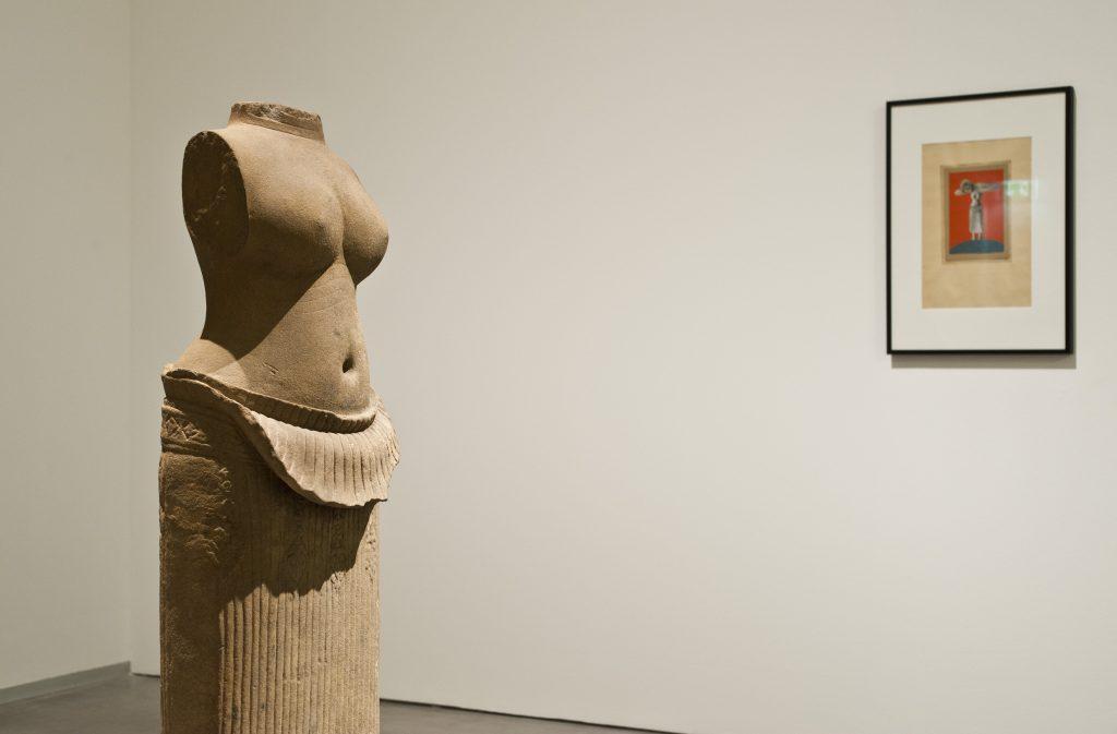 Dada Afrika - Dialog mit dem Fremden, Ausstellungsansicht Berlinische Galerie - Foto © Ralf Herzig