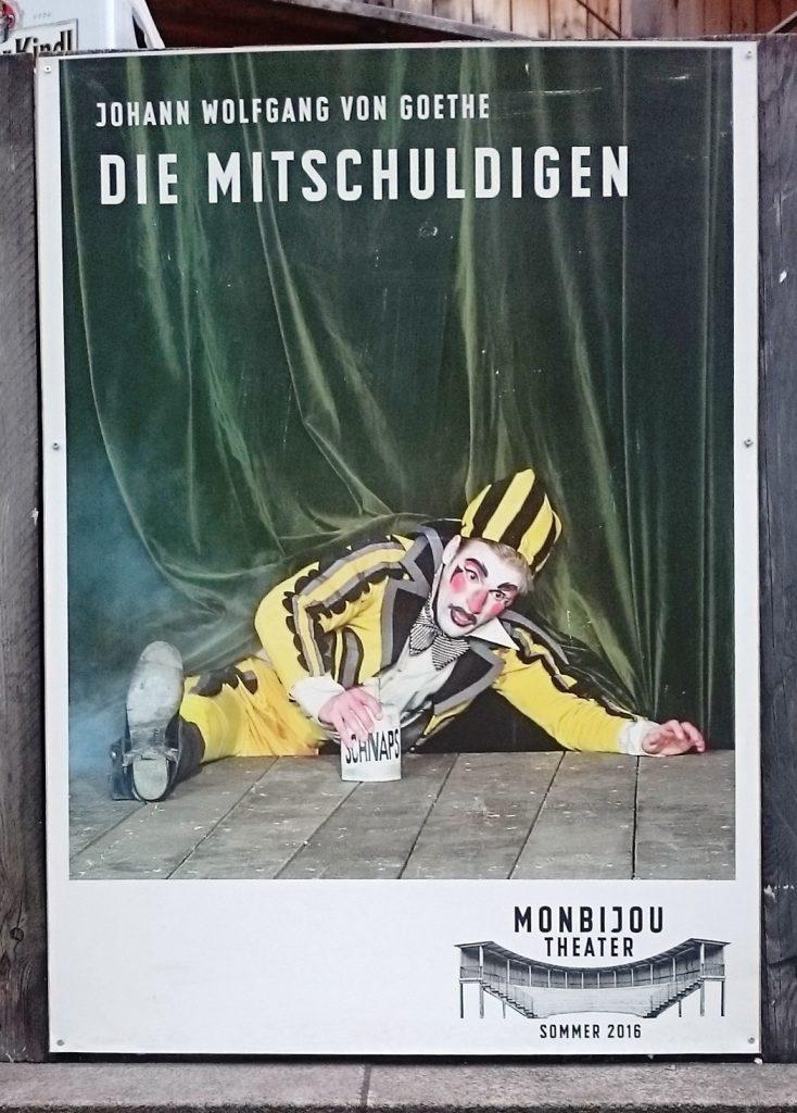 Die Mitschuldigen_Monbijou Theater_Plakat