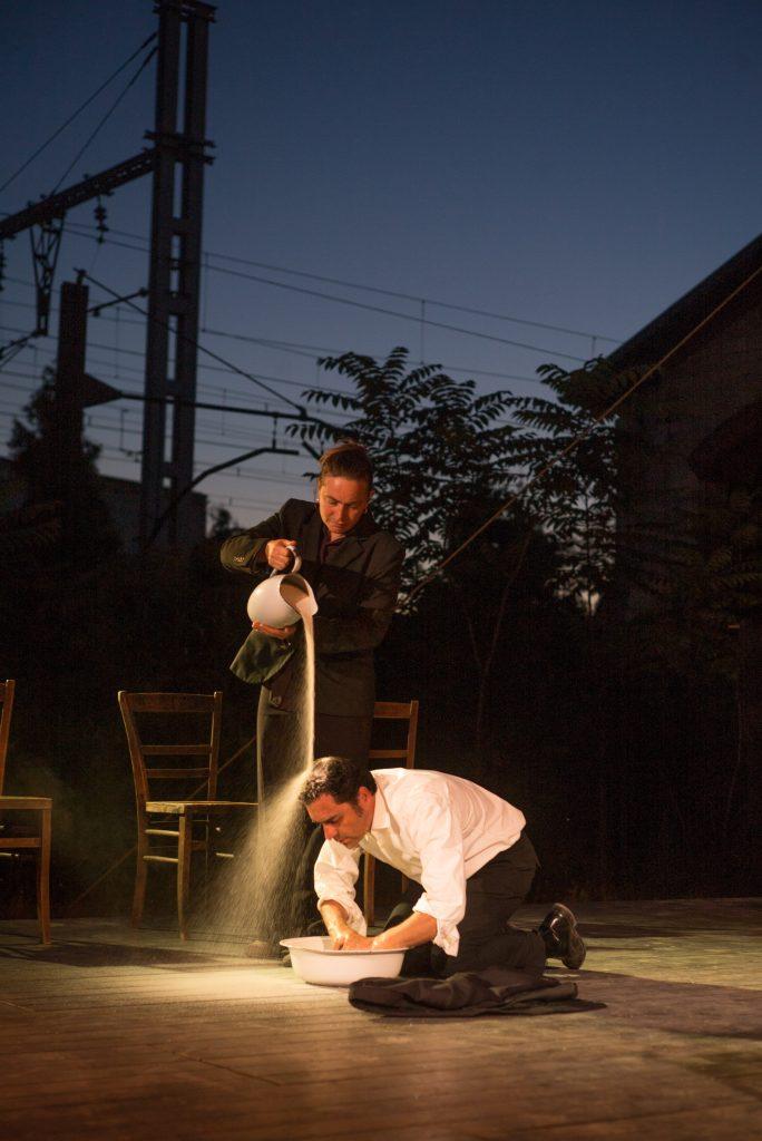 Shakespeares Sonette mit dem Ton und Kirschen Wandertheater - Foto (c) Jean-Pierre Estournet