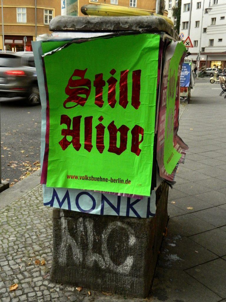 Volksbühne_Plakat