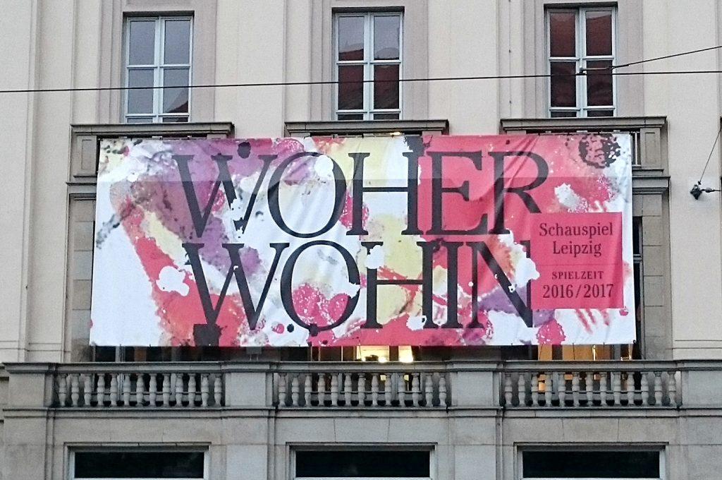 Spielzeitmotto am Schauspiel Leipzig - Foto: St. B.