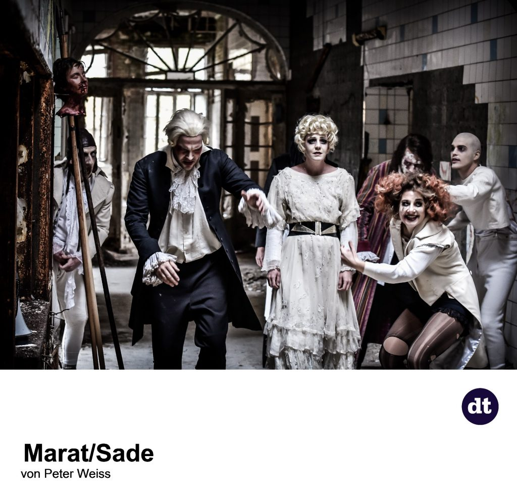 Marat/Sade am DT Berlin - (c) Arno Declair