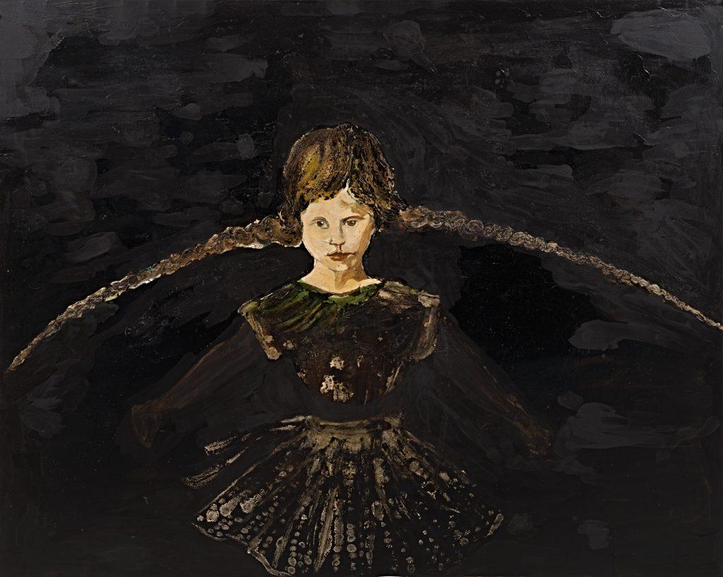 Cornelia Schleime, Die Nacht hat Flügel, 1996, Berlinische Galerie, © Cornelia Schleime, Repro: Kai-Annett Becker