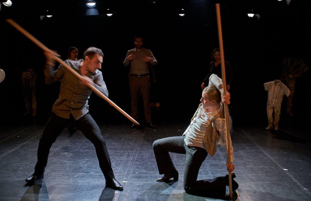 Der Horatier im Theater unterm Dach - Foto (c) Kamil Rohde